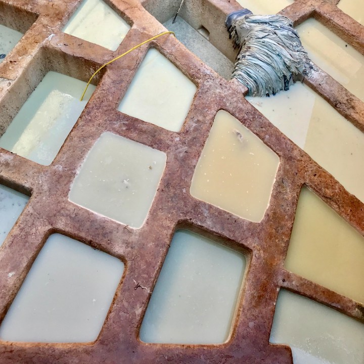 Fez Ain Azliten tannery dye basins