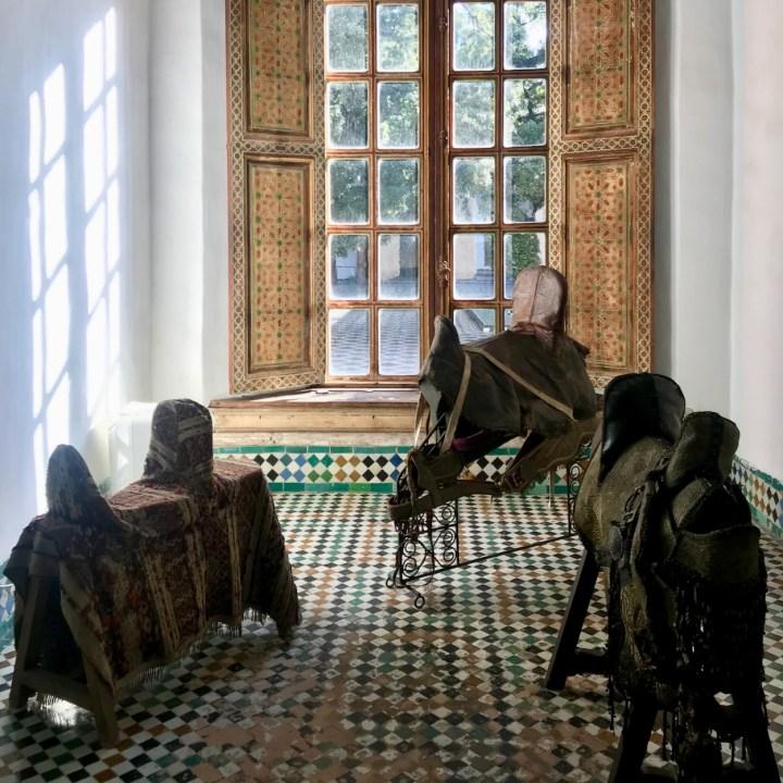 Batha Museum hallway exhibition