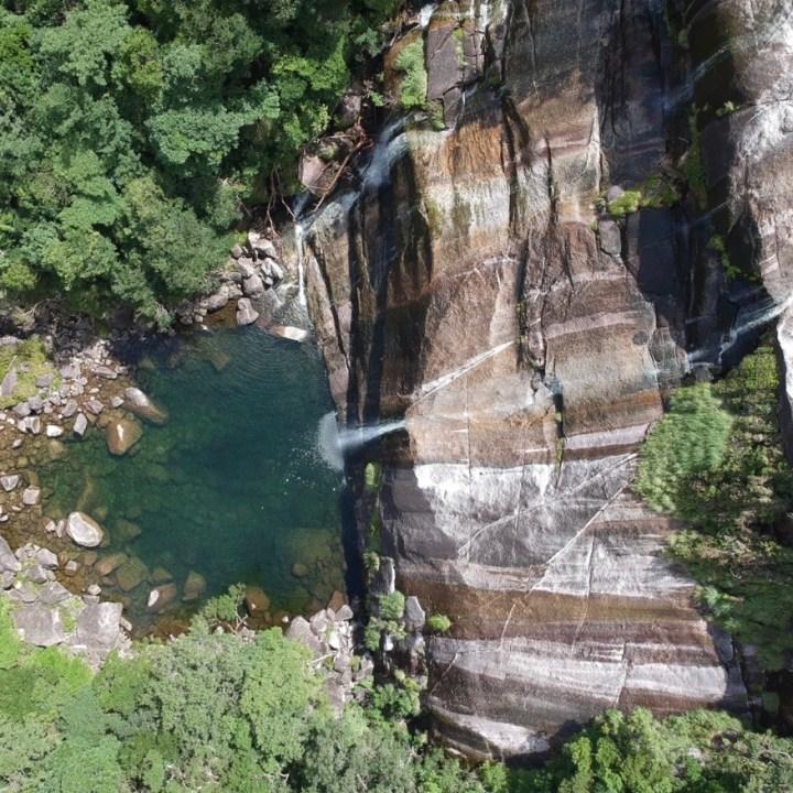 Janokuchi waterfall hike Yakushima