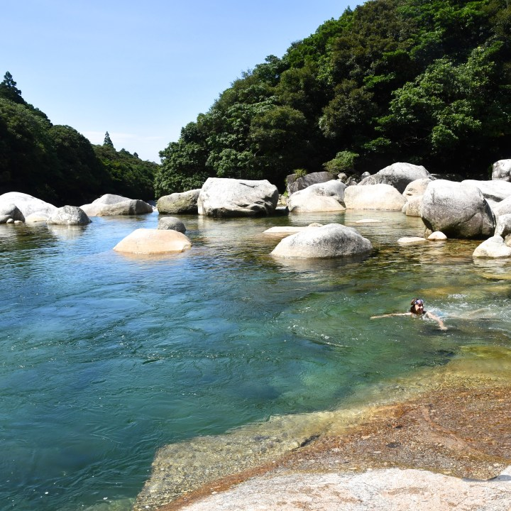 Yakushima wild swimming