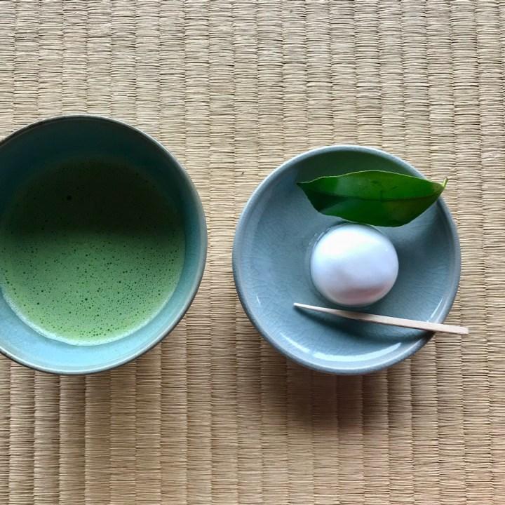 Suizenji Jojuen Kumamoto tea house matcha