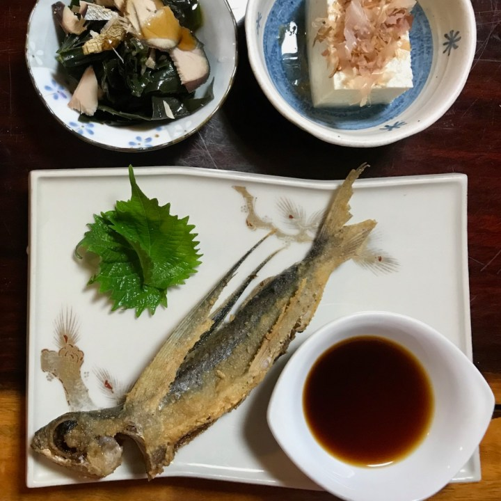 Yakushima fried flying fish
