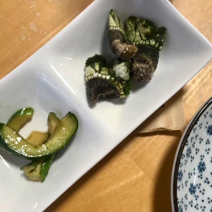 barnacles Yakushima speciality