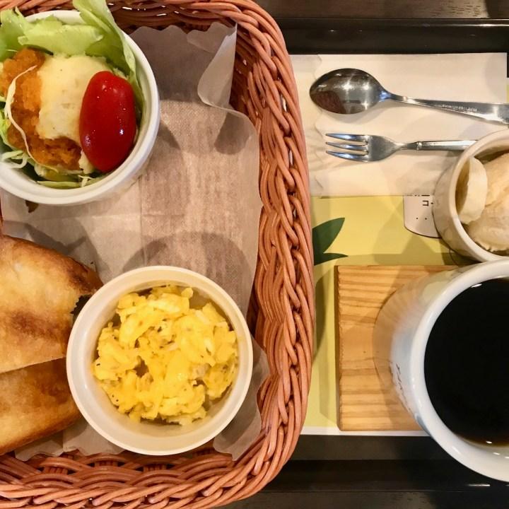 Kimura coffee breakfast Yakushima