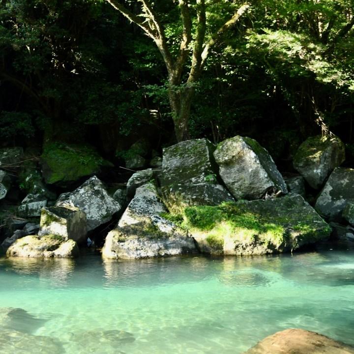 O river swim