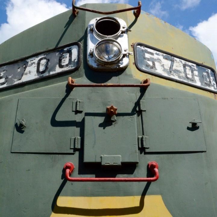 Merida Railway Museum train engine