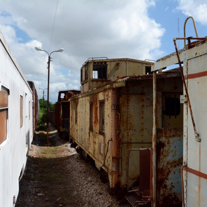 Merida Railroad Museum train collection