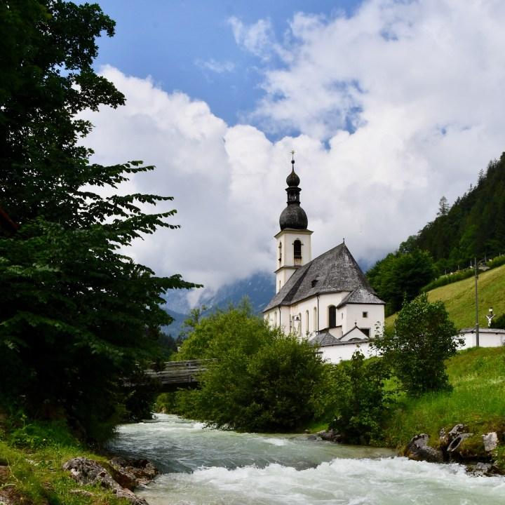 Ramsau Berchtesgaden St Sebastian Church