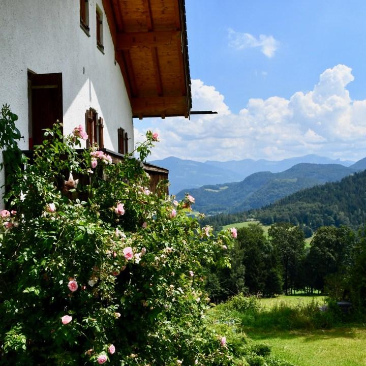 Maria Gern Berchtesgaden rose bush
