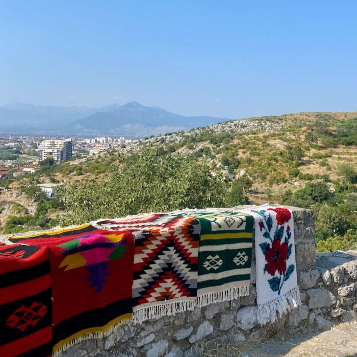 Albania, Shkoder, castle souvenirs