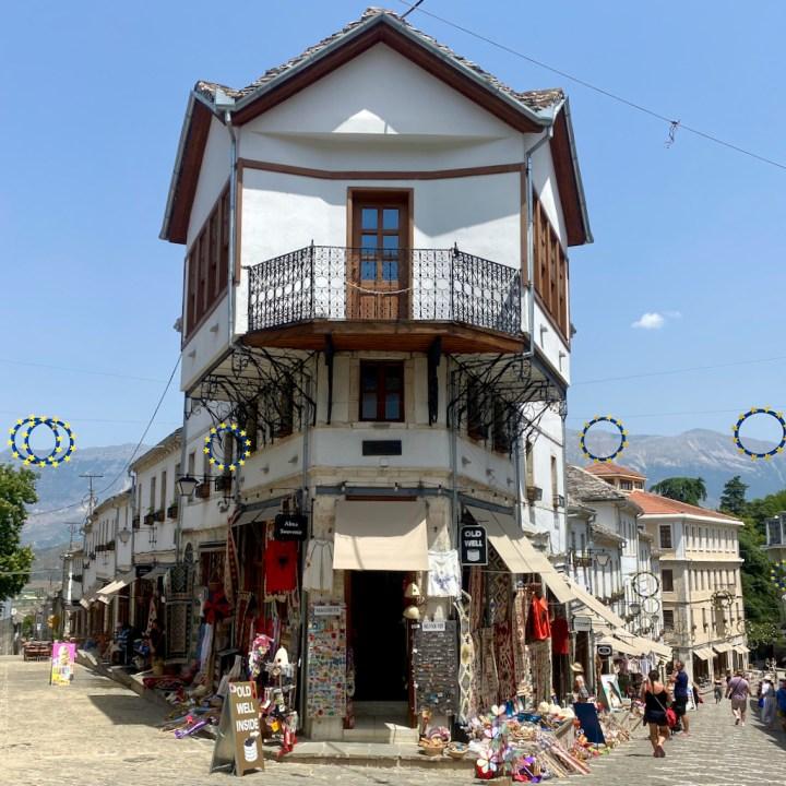 Albania, Gjirokaster, old town