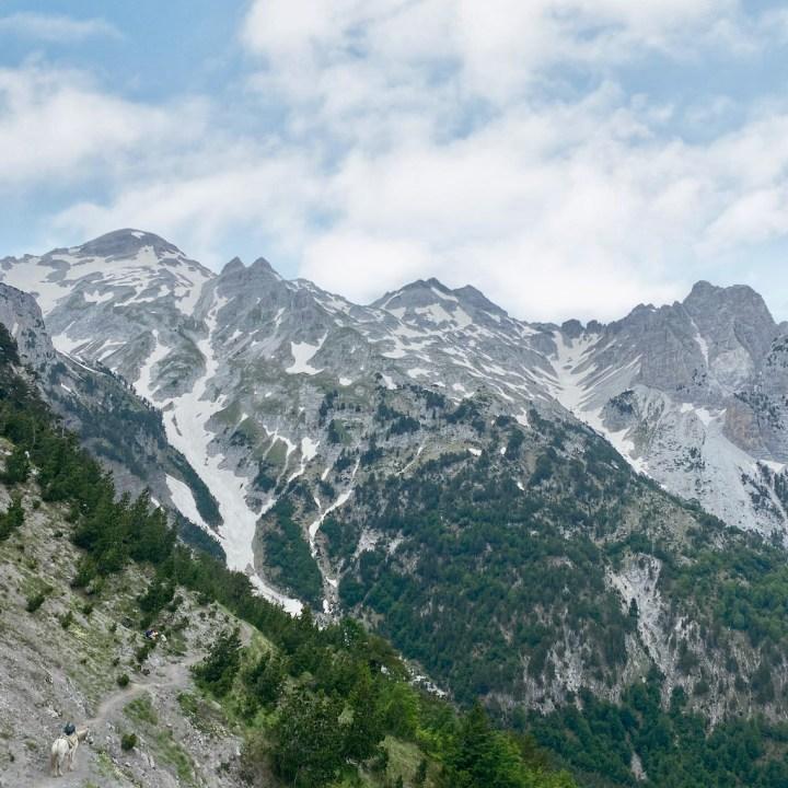 Albania, Theth to Valbone hike