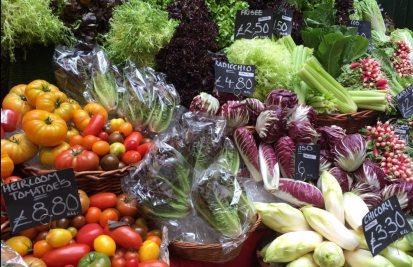Borough Market Vegetables - Organic vegetables in London