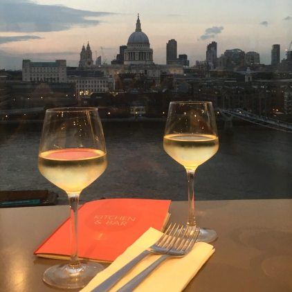 London Restaurants with a View - Tate Modern