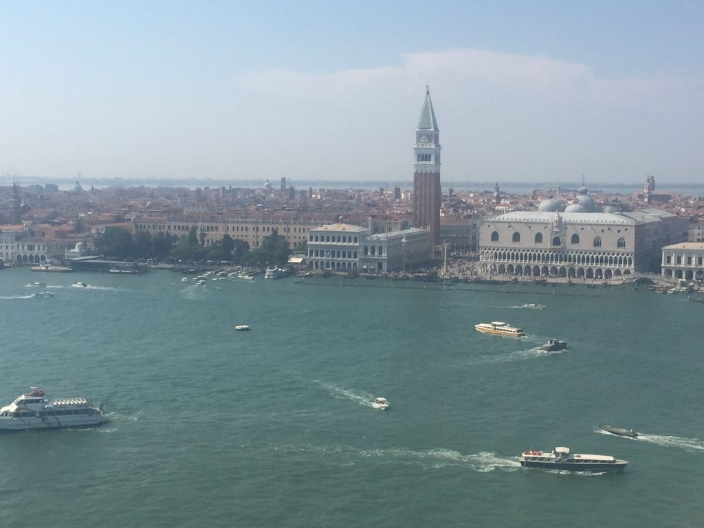 Things to do in Venice Italy - View of Lagoon from San Giorgio Island