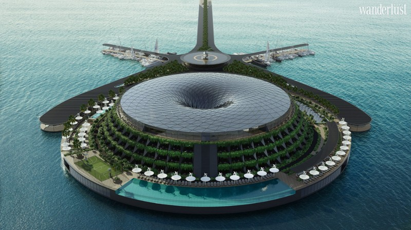 Wanderlust Tips Magazine | Eco-floating hotel in Dubai generates its own electricity