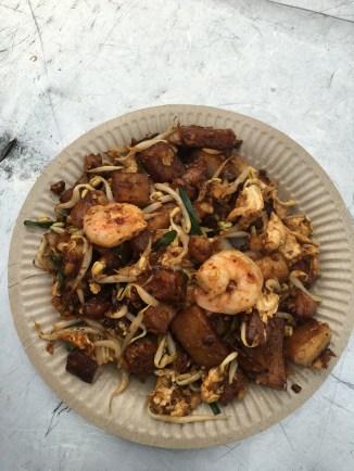 Seafood char koay kak. Delicious!