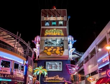 Slotzilla Zipline Las Vegas - Fremont Street Experience, Ziplining in Las Vegas, Zipline Las Vegas, Fremont Zipline, Slotzilla, Kid Friendly Vegas, Kid Friendly Las Vegas, Las Vegas Activities, Things to do Las Vegas, Las Vegas Tips, Las Vegas Things to do, Ziplining in Las Vegas, Las Vegas Travel, Fremont Street Experience   Wanderlustyle.com
