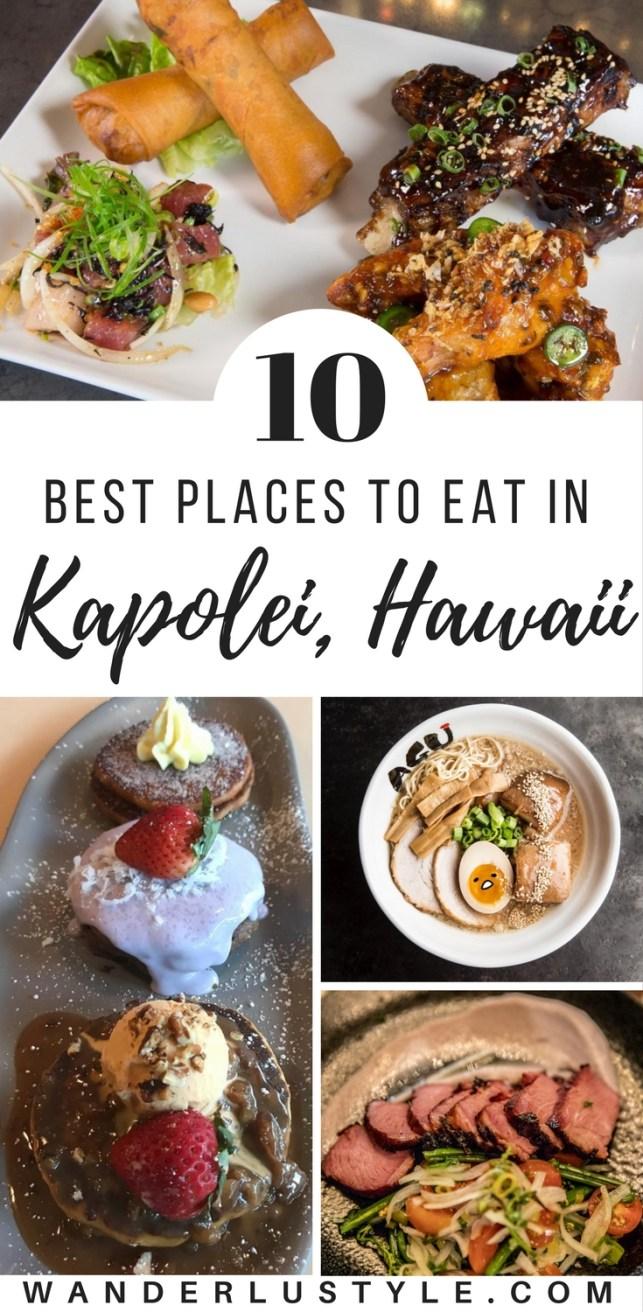 10 Best places to eat in Kapolei, Hawaii - Hawaii Food Places, Chinatown Food, Honolulu Food Places #HawaiiFood #BestofHawaii #HawaiiTips #HawaiiTravelTips | Wanderlustyle.com