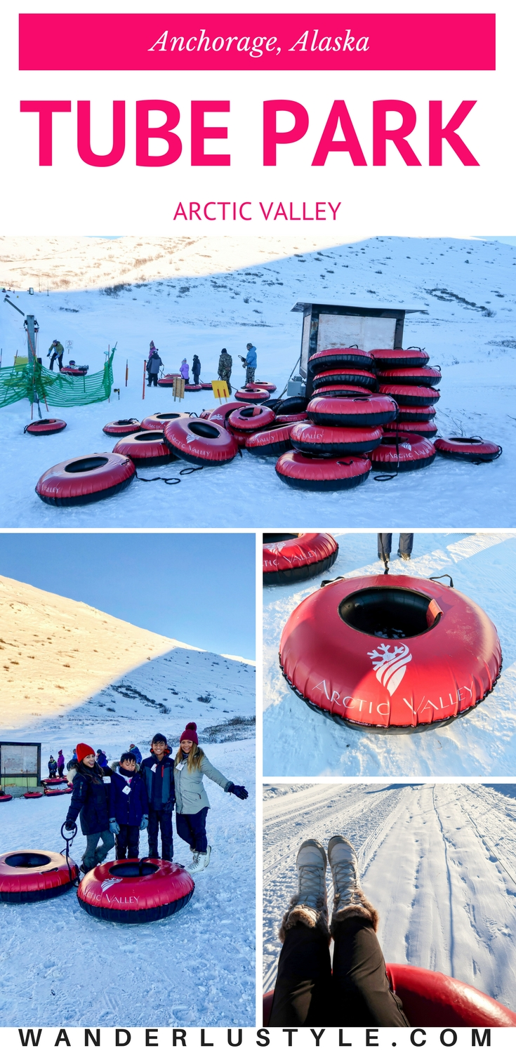 Tubing at Arctic Valley Tube Park - Anchorage, Alaska | Wanderlustyle.com