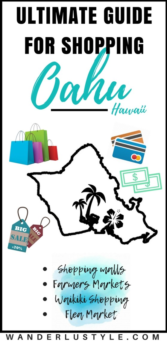 The Ultimate Guide for Shopping on Oahu, Hawaii - Hawaii Travel Tips, Hawaii Shopping, Shopping on Oahu, Best Shopping in Hawaii, Oahu Travel Tips, Oahu Shops | Wanderlustyle.com