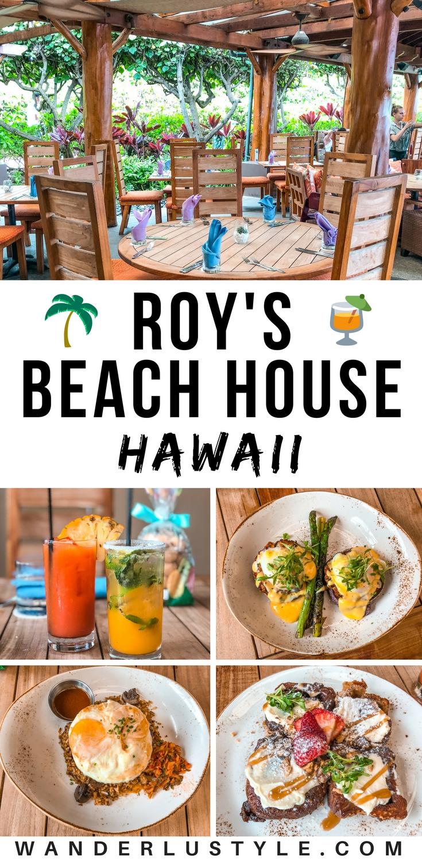 Roy's Beach House at Turtle Bay, Roy's Restaurant Hawaii, Roy's Hawaii | Wanderlustyle.com