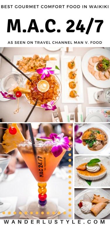MAC 24/7 in Waikiki - Hilton Waikiki Beach Restaurant, Best Gourmet Comfort Food Waikiki, Waikiki Restaurant, Best Late Night Food in Waikiki, Man V. Food Travel Channel, Hawaii Travel Tips | WANDERLUSTYLE.COM