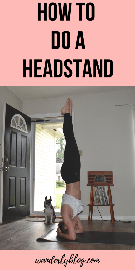 How to do a headstand when you are new to yoga