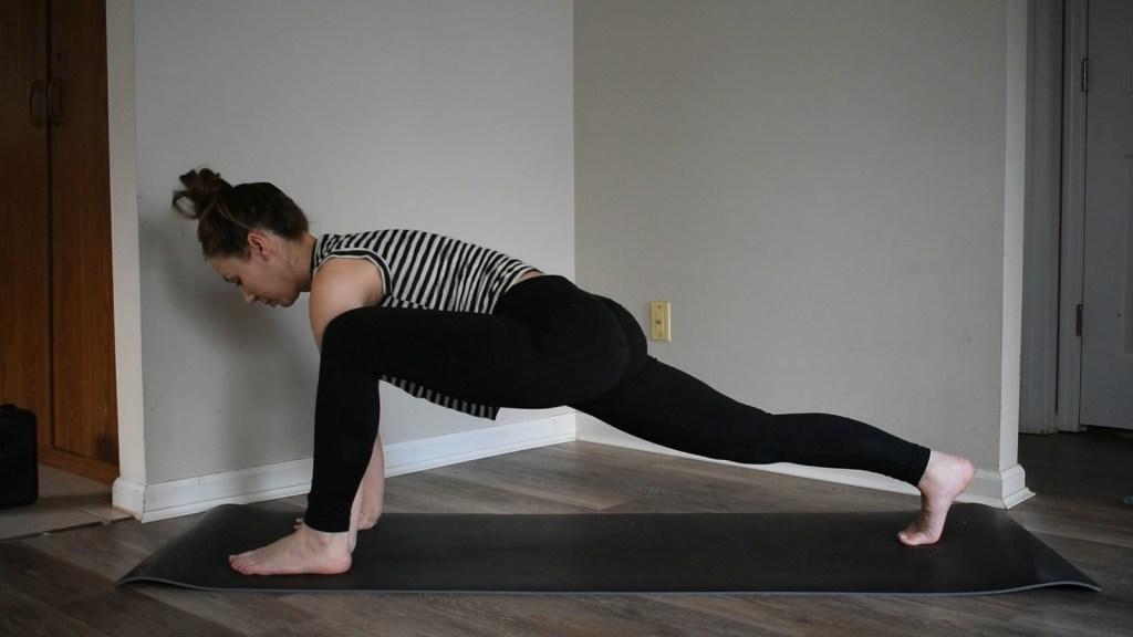 yoga lizard pose wanderly blog
