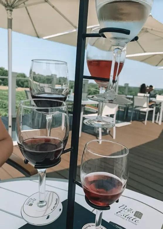 Wine at Brys Estate
