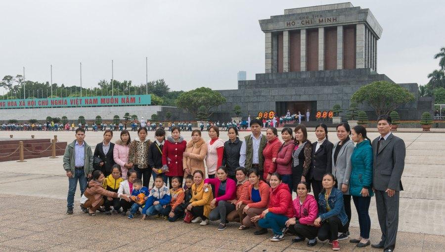 Vietnam-Hanoi-Mausoleum