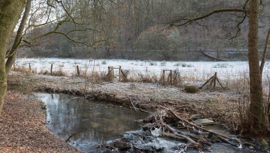 Eis am Weltersbachtal