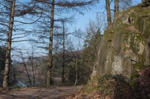 Felsen auf der Nordseite