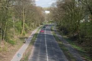 Kreisstrasse in Leichlingen