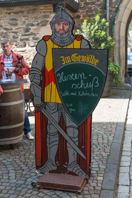 Getränkekarte in Burg