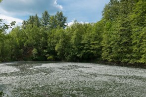 Teich in Grube Cox