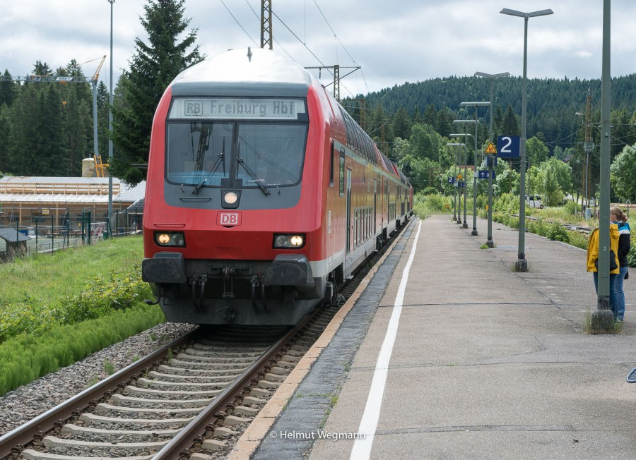 Eisenbahn in Hinterzarten