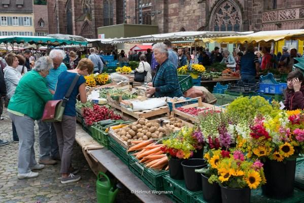 Markt in Freiburg