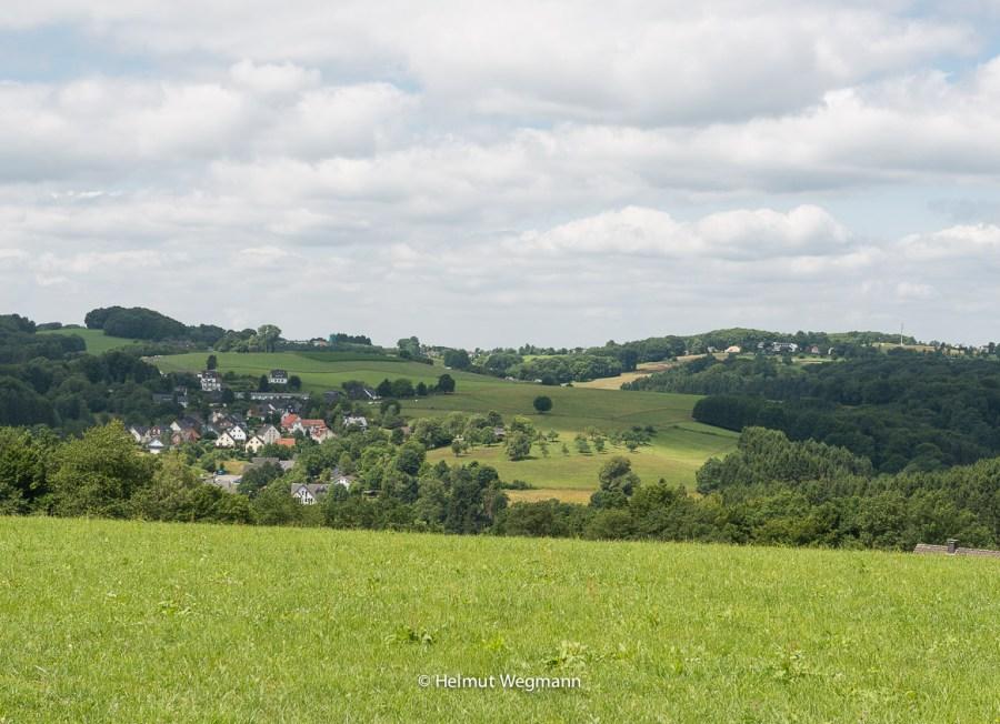 Blick auf Ortsteil von Kürten