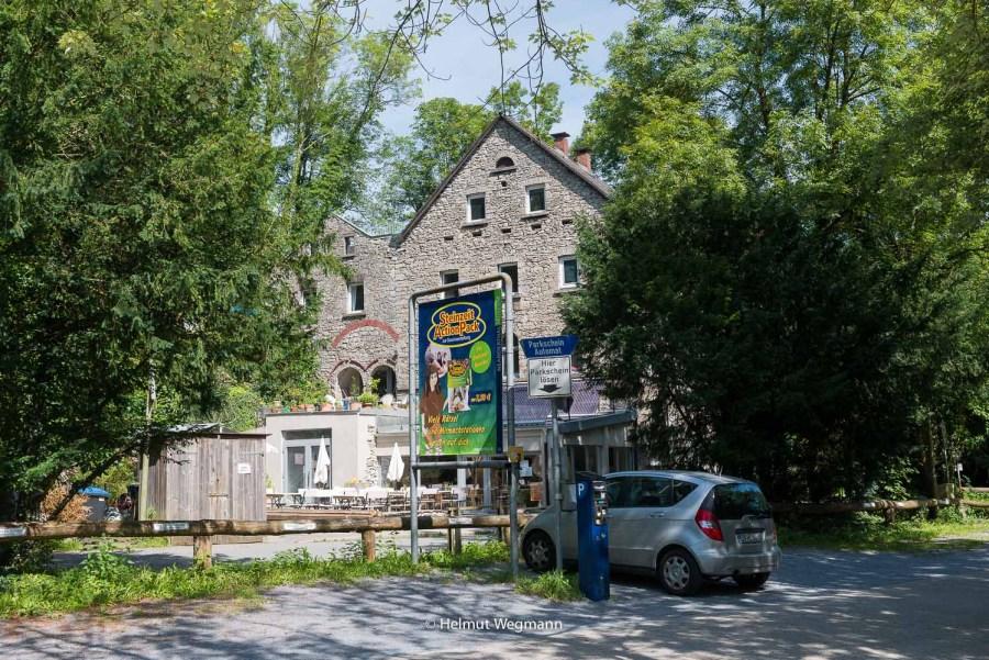 Parkplatz am Neandertalmuseum