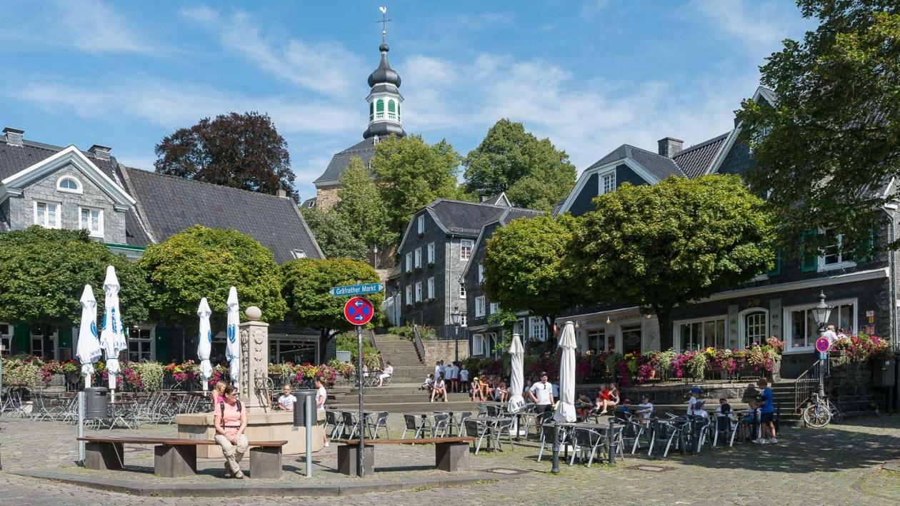Marktplatz in Gräfrath