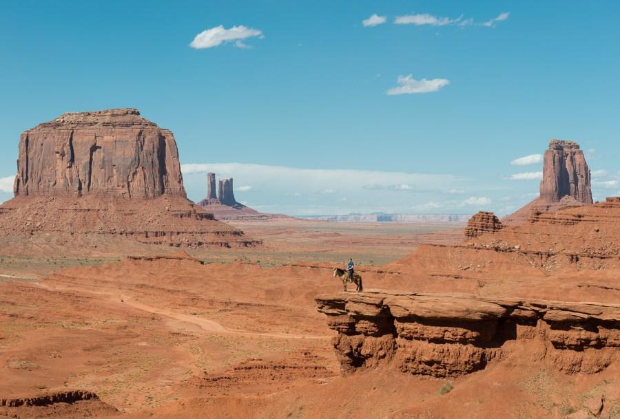 Das meist fotografierte Pferd im wilden Westen