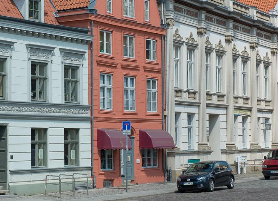 Häuserzeile in Stralsund