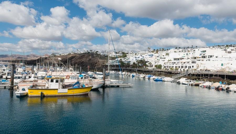 Fischereihafen in Puerto del Carmen