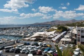 Hafen in Puerto Calero