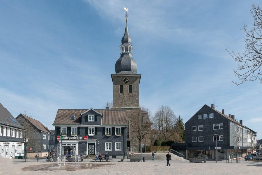 Marktplatz in Radevormwald
