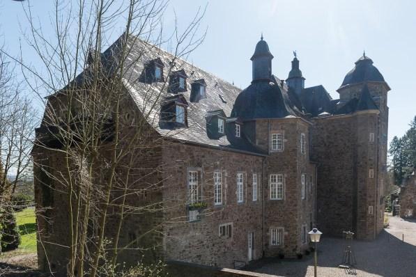 Hinterhof von Schloss Allner
