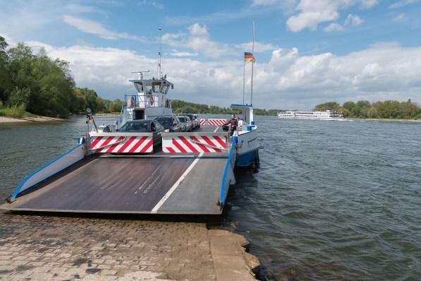 Rheinfähre bei Zons