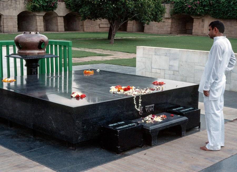 Grabmal von Gandhi