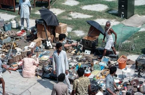Trödelmarkt am Roten Fort